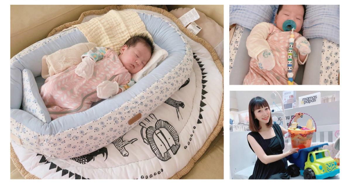 爸爸媽媽們的育兒好幫手『Voksi嬰兒小窩(床中床)+ Bambino坐臥兩用沐浴澡盆』❤️
