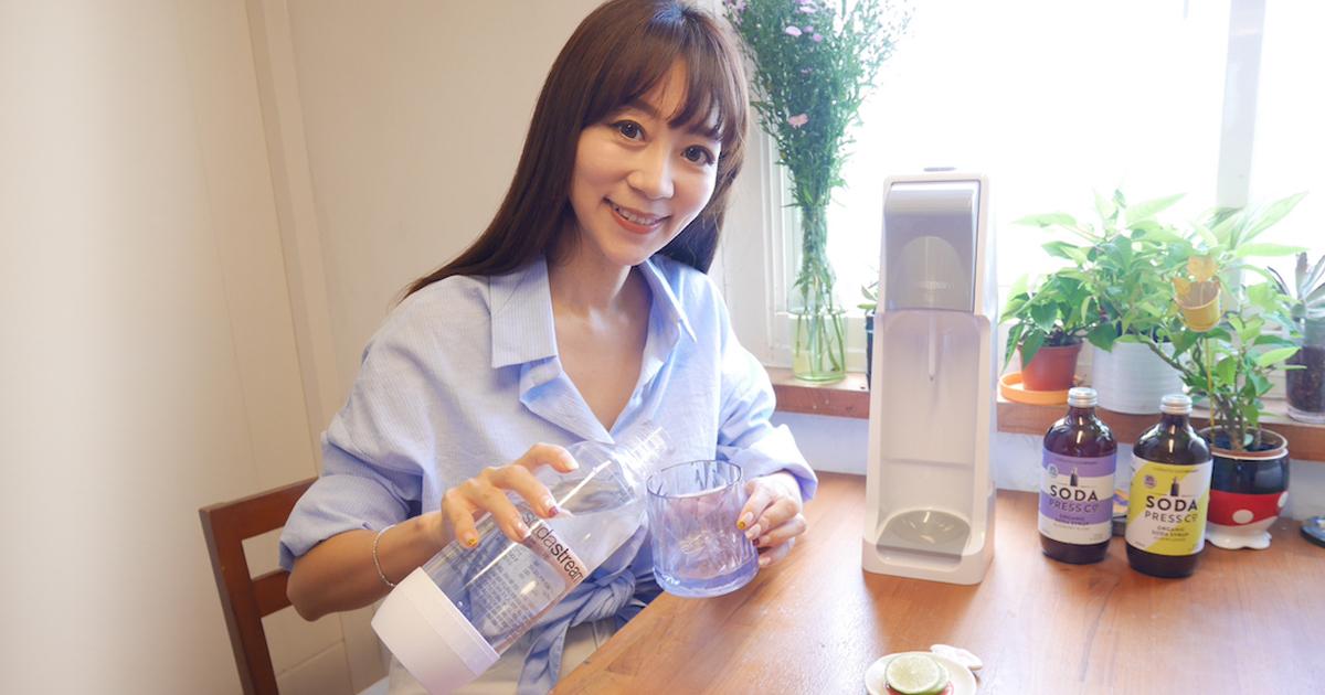 全家大小都愛的『sodastream COOL氣泡水機』讓生活更加豐富的消暑新選擇❤️